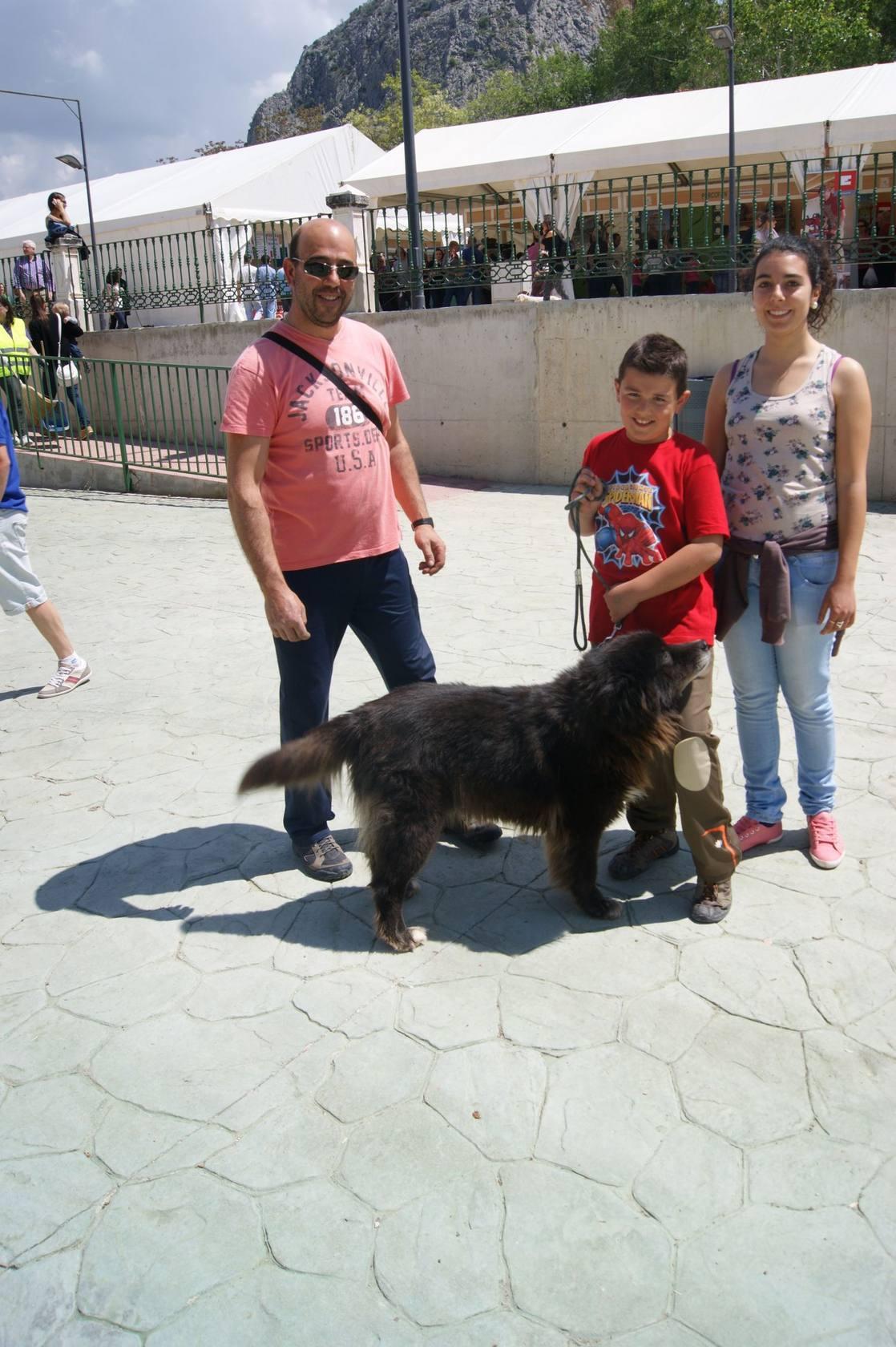 Archidona celebra su XXI Feria del Perro