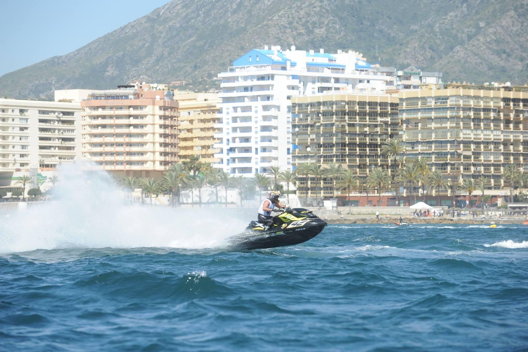 Los malagueños hacen doblete en las pruebas puntuables del Nacional y Andaluz de Motos