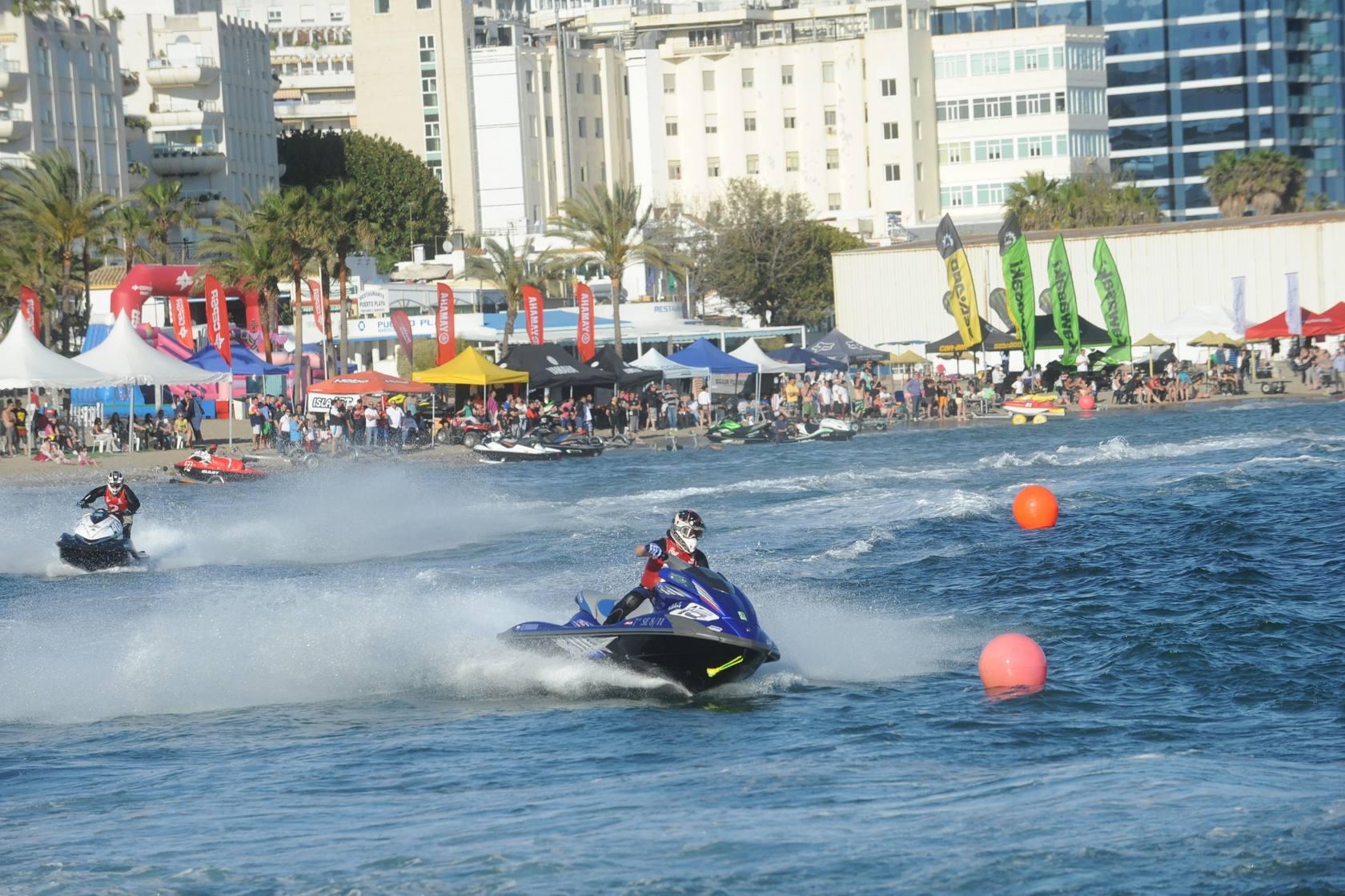 Marbella acoge el Campeonato de España y Andalucía de Motos Acuáticas