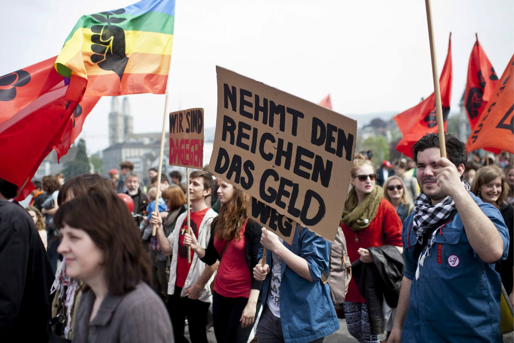Protestas alrededor del mundo el Primero de Mayo