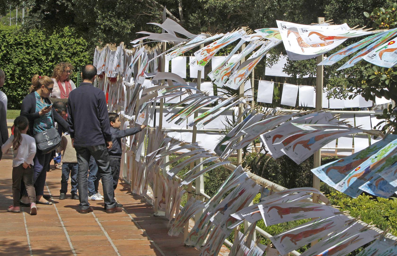 Fiesta para elegir el nombre de los canguros nacidos en Málaga