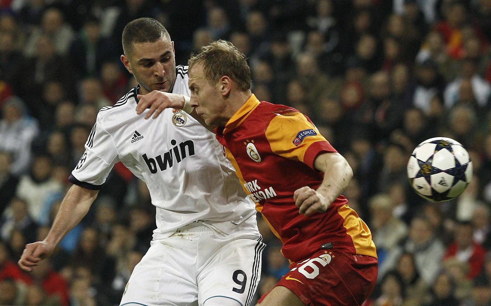 Real Madrid-Galatasaray (ida de cuartos de final de la Liga de Campeones)