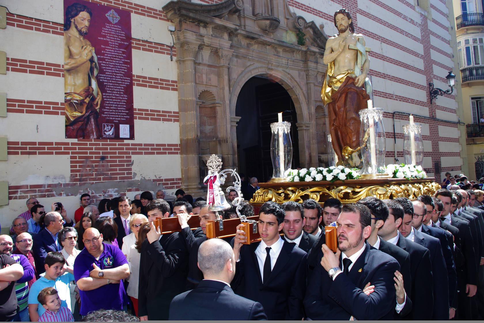 El Resucitado se traslada a la Parroquia de San Pablo