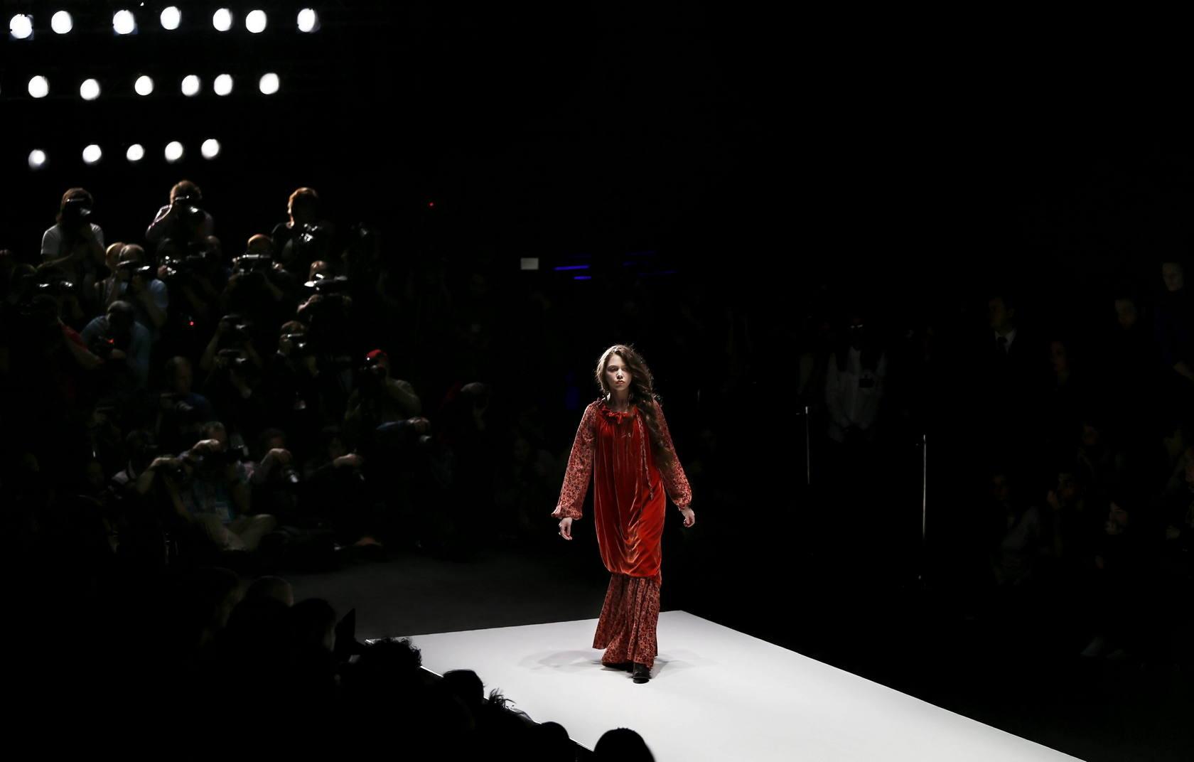 Sobriedad en la Semana de la Moda de Moscú