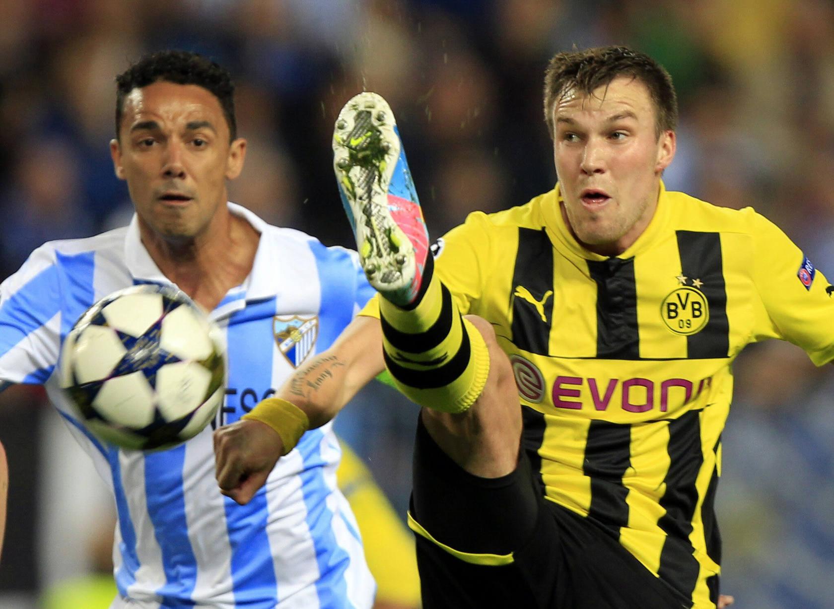 Málaga-Borussia de Dortmund (ida de cuartos de final de Liga de Campeones)