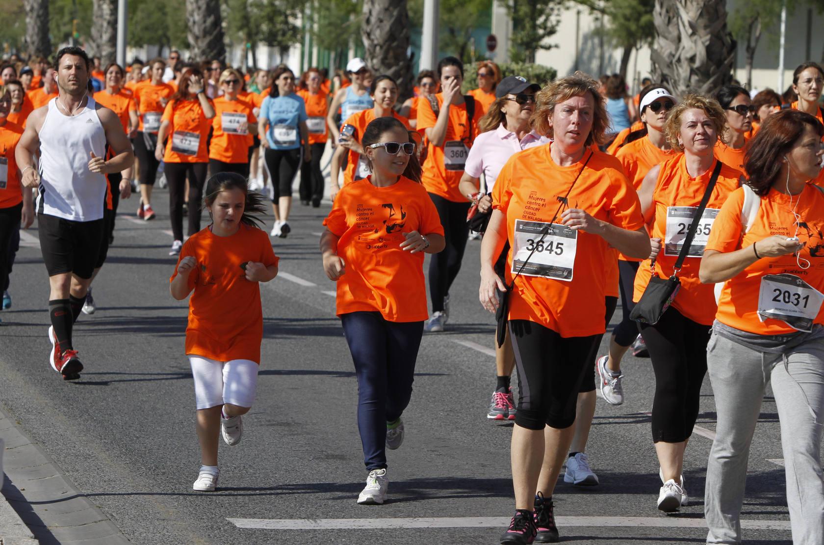 Éxito de corredoras contra el cáncer