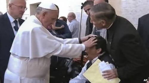 Diez imágenes para cien días de Pontificado