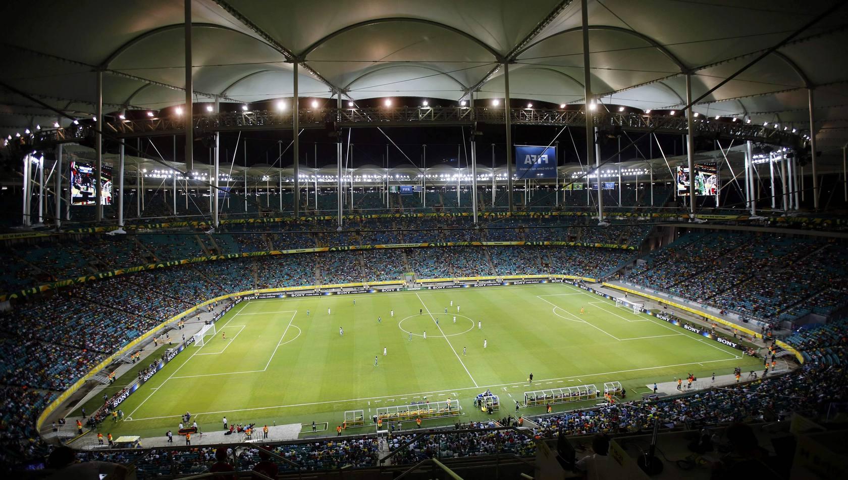 Nigeria-Uruguay (fase de grupos de la Copa Confederaciones)